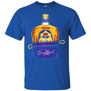 Crown Royal in a Bag Tee Shirt Black - Newmeup