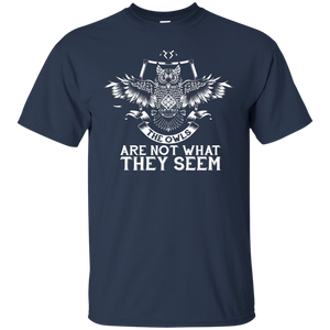 NewmeUp Men's Harry Potter The Owls Are Not What They Seem T-shirt