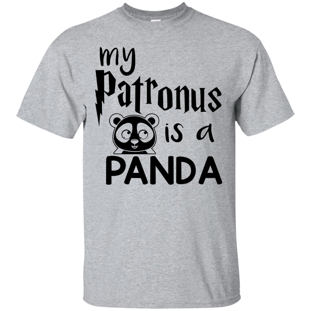 My Patronus is a Panda Shirt Black