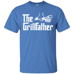 The Grillfather T Shirt - Funny T Shirt For Movie Buffs