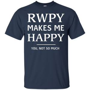 NewmeUp Men's JJlinge Rwby Makes Me Happy You So Much T shirt