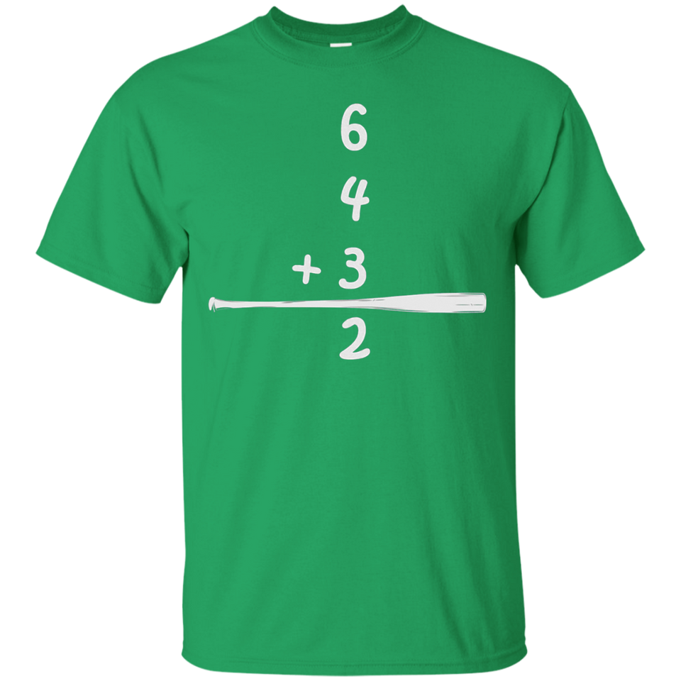 Classic Baseball 6-4-3-2 Double Play Shirt - Newmeup