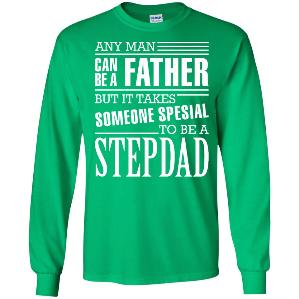 Stepdad Shirt Gift Idea on Father's Day T-Shirt for Step-dad