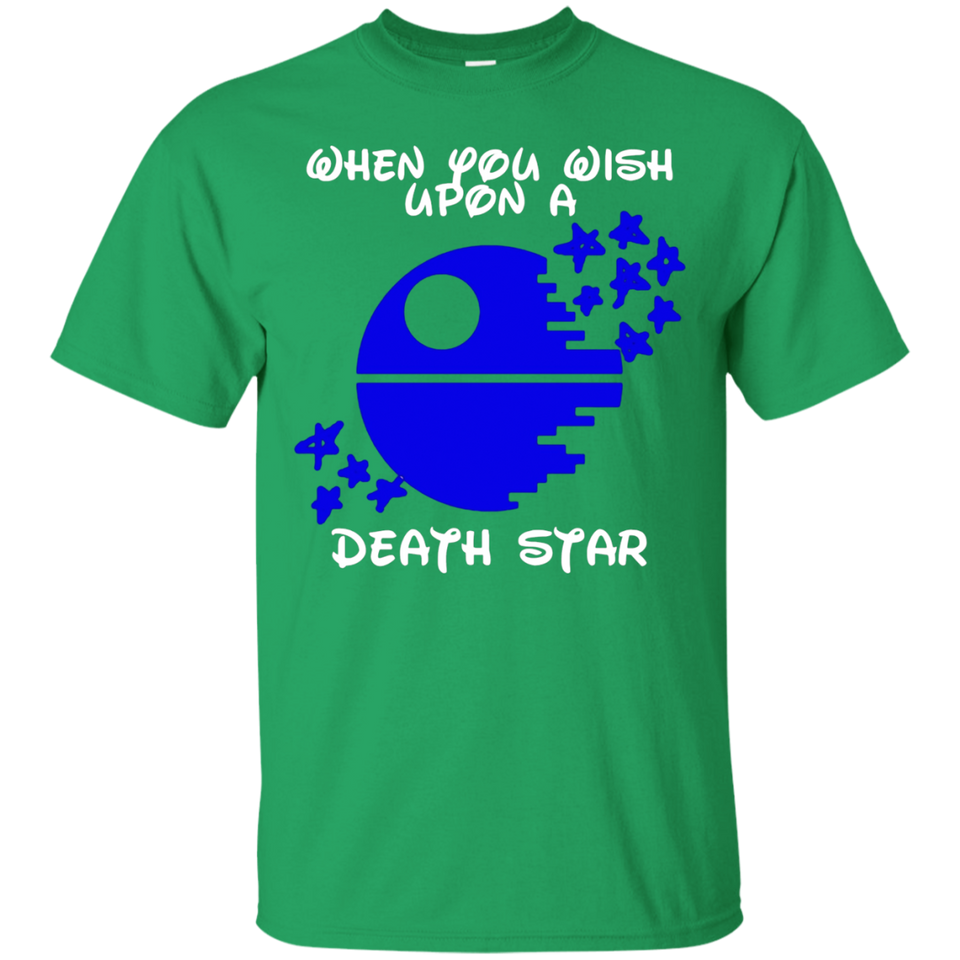 When You Wish Upon A Death Star T-Shirt - Newmeup