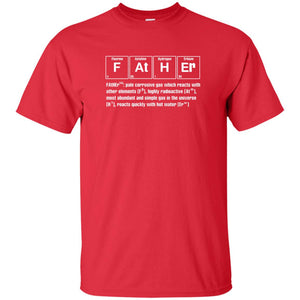 Father Chemistry Funny Tshirt Gift For Father's Day - Newmeup