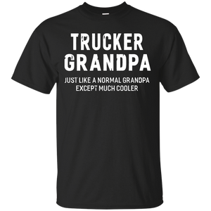 Trucker Grandpa Gifts For Grandpa Firefghiter Men T-shirt - Newmeup