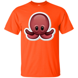 Octopus Emoji T-Shirt Squid Ocean Sea Creature Animal