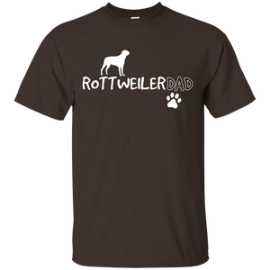 Rottweiler Dad Shirt, Funny Cute Dog Owner Gift