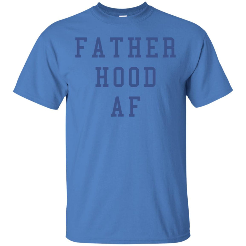 Funny First Father's Day Shirt - Fatherhood AF