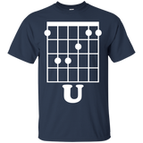 Fun Guitar T-Shirt, F Chord U Funny Guitarist Gift - newmeup