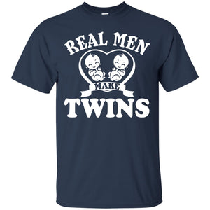 Real Men Dad Twins