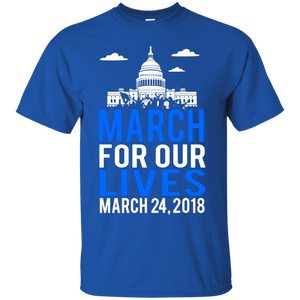 Men's March For Our Lives Exclusive t Shirt 2018