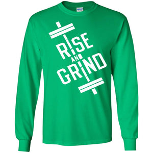 RISE AND GRIND Tshirt