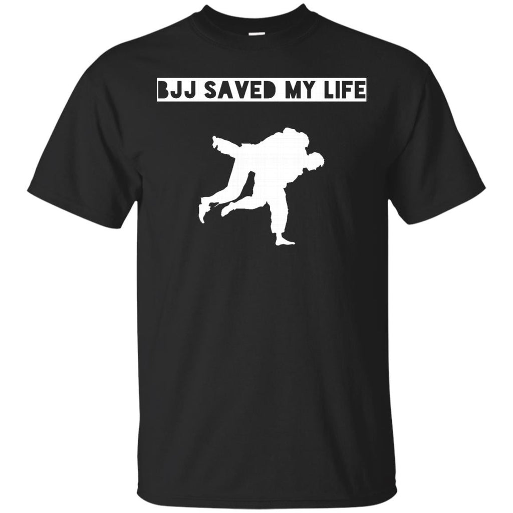 BJJ Saved My Life - BJJ Brazilian Jiu Jitsu T-Shirt - Newmeup