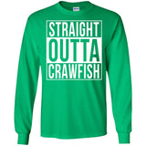 Straight Outta Crawfish Weekend Forecast Boil T-Shirt