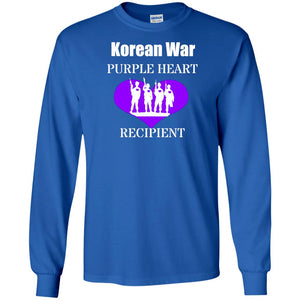 Korean War Purple Heart Recipient Shirt For Veterans