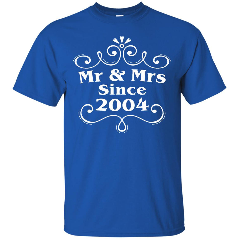 Mr _ Mrs Since 2004 - 13th Wedding Anniversary Gift Ideas