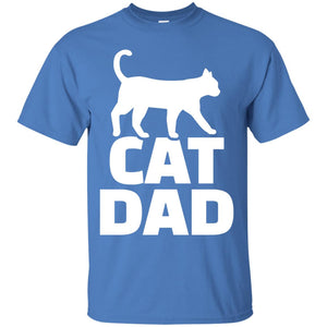 Men's Cat dad T-Shirt