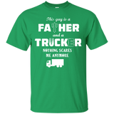Trucker T-shirt-Awesome Truck Driver Shirt - Newmeup