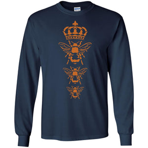 Three Royal Bees Save The Bees T-Shirt For Nature Lovers - Newmeup
