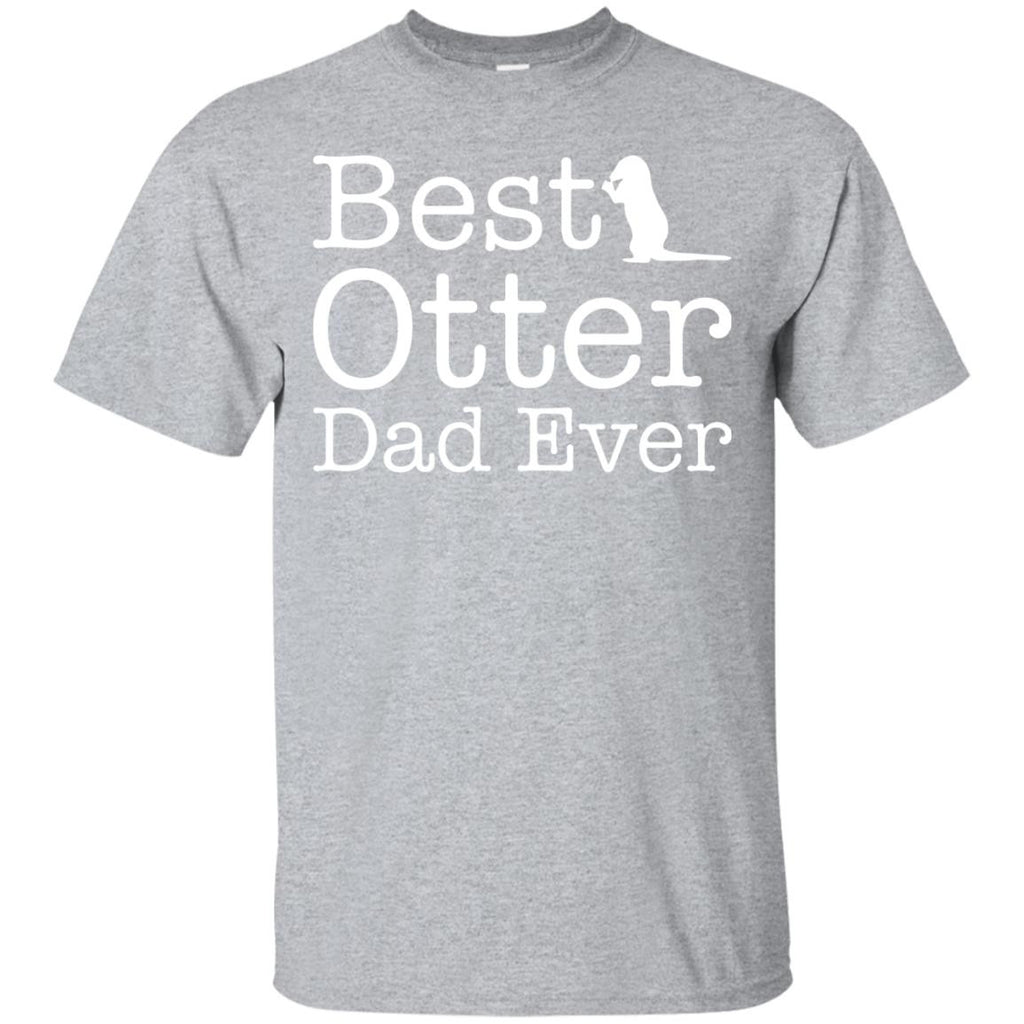 Best Otter Dad Ever T-shirt - Newmeup