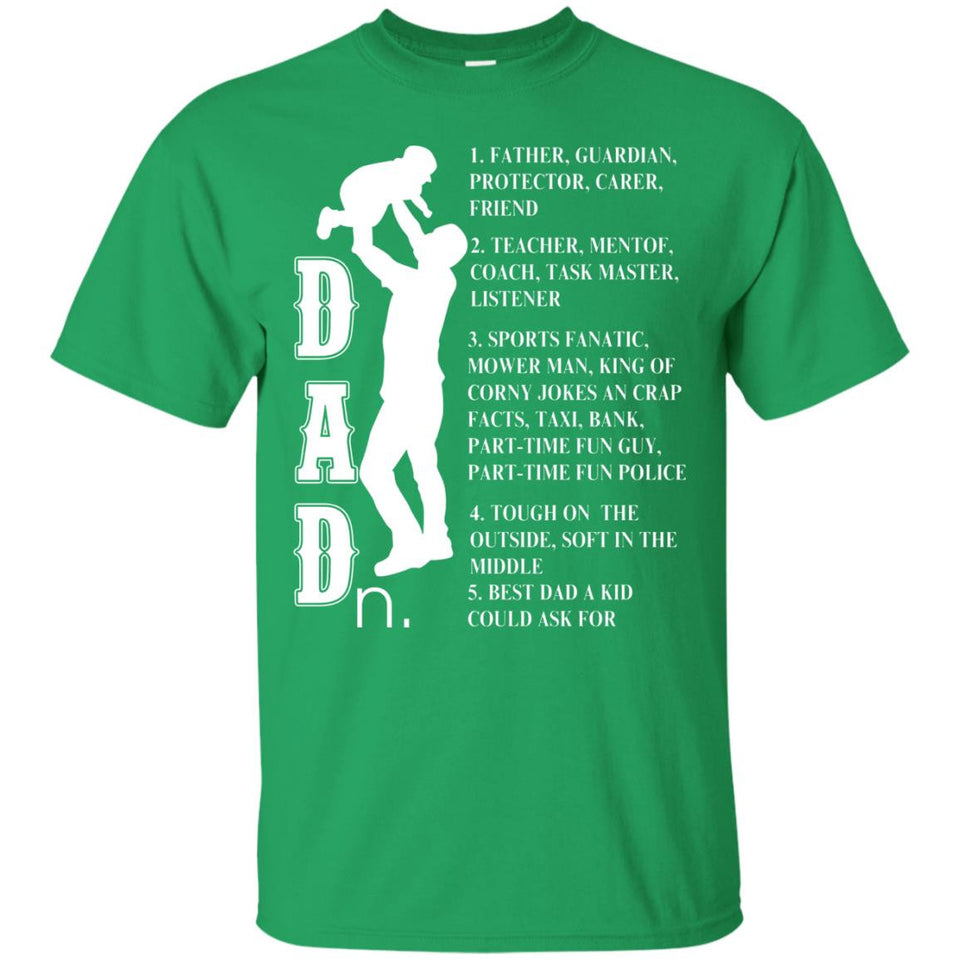 Father's Day Gift For Dad - Dad - noun - T-shirt- All about Dad - Newmeup