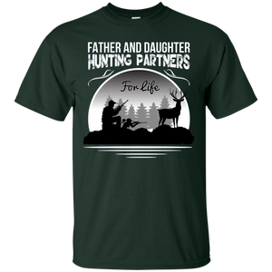 Father And Daughter Hunting Partners For Life T-Shirts - Newmeup