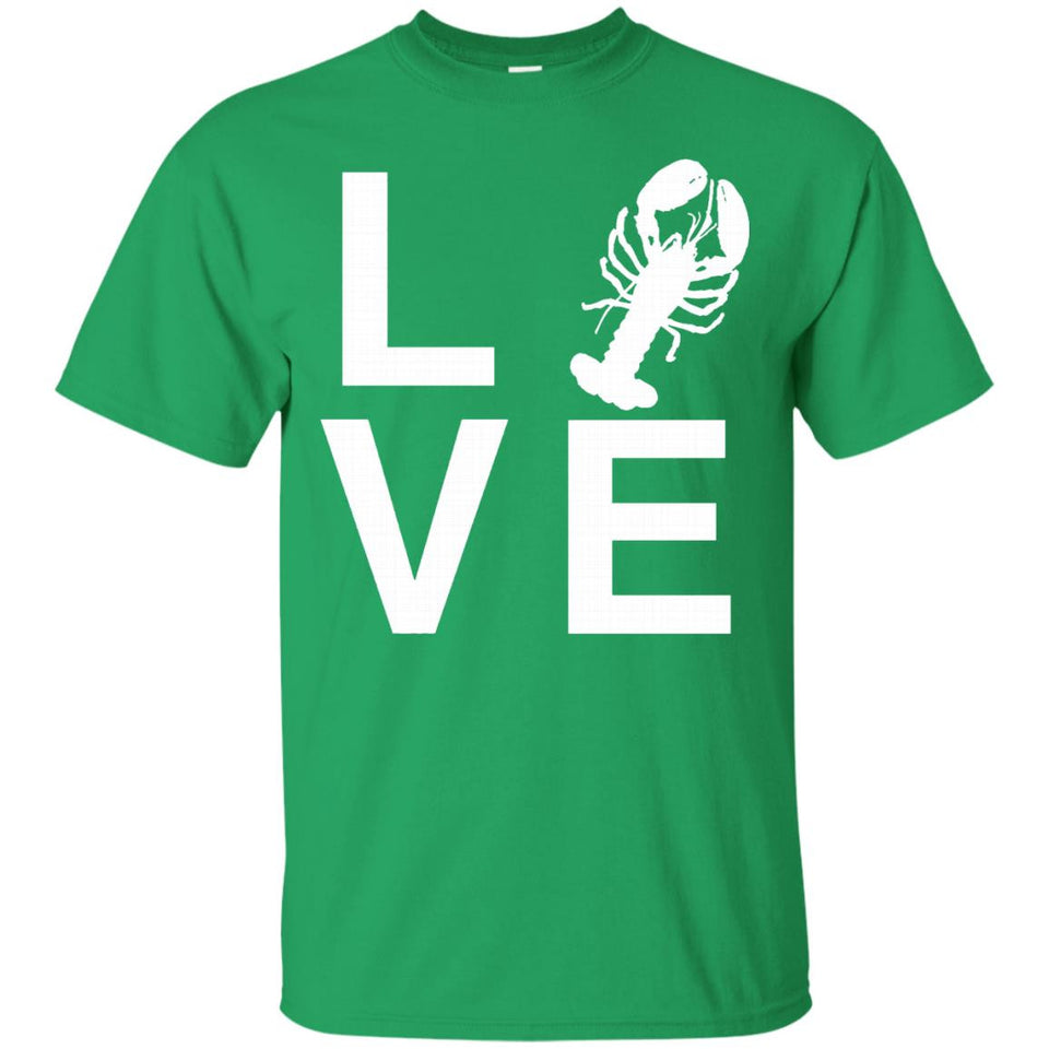 Love - Funny Crawfish Boil Party T-shirt