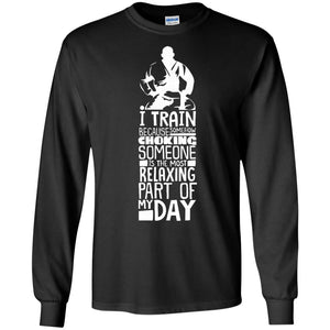 BJJ Brazilian Jiu Jitsu TShirt Funny Training Workout Design - Newmeup