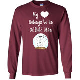 My Heart Belongs to an Oilfield Man Tradesman SWEATSHIRT