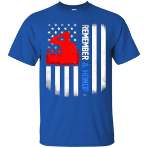 Remember and Honor Shirt US Flag