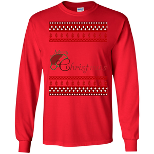 Merry Christmas Y'all Cute Southern Girl Gift Sweatshirt - newmeup