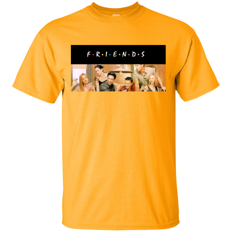Friends Sitcom TV Series Cast Logo Officially Licensed Shirt