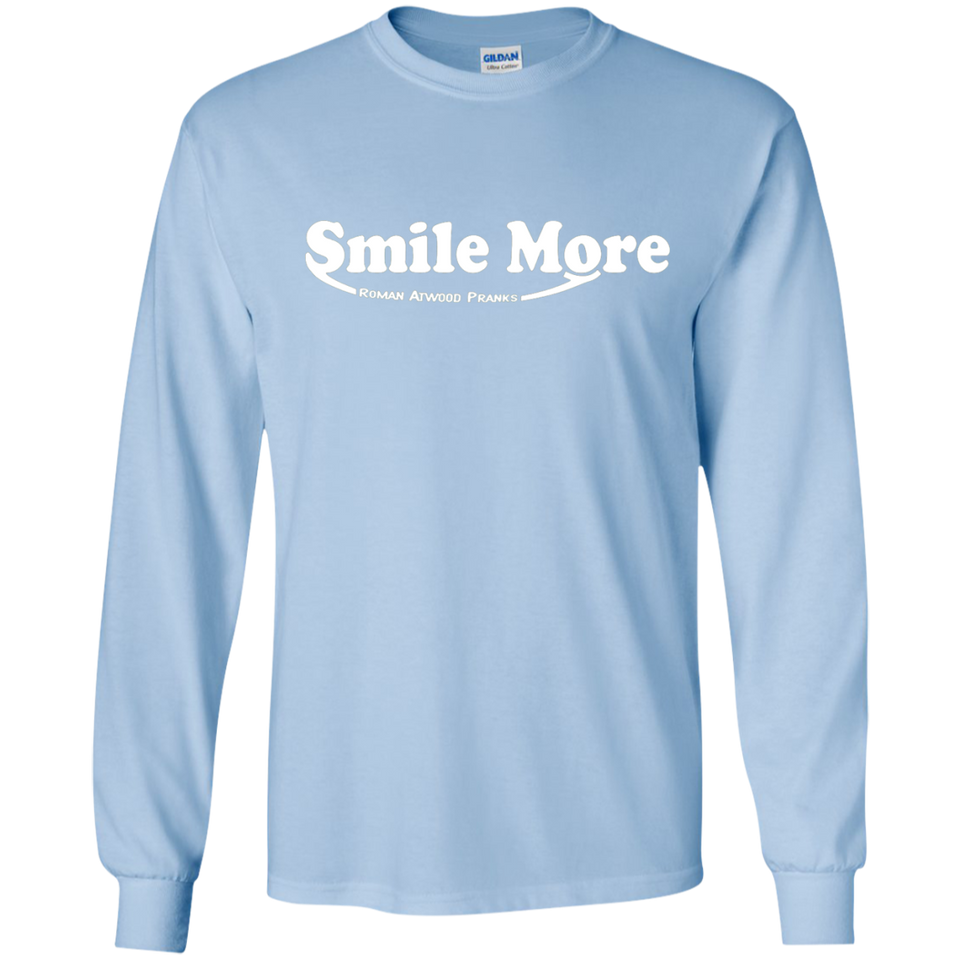 S-mi-le t shirt Mo-re Roman-Atwood -  SWEATSHIRT - newmeup