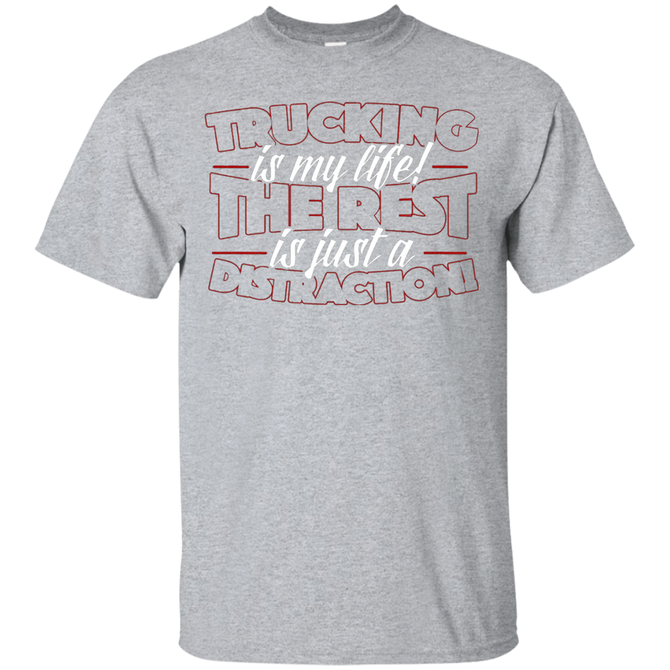 Trucking T Shirt - Newmeup