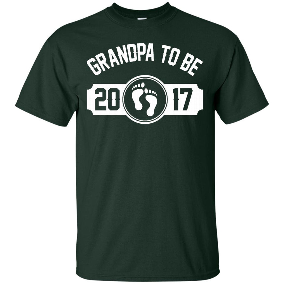 Soon To Be Grandpa 2017 Shirt - Gift For New Grandpa T-Shirt