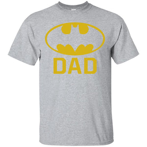 Batman Batdad Classic Logo for Fathers and Dads T Shirt _ Stickers - Newmeup