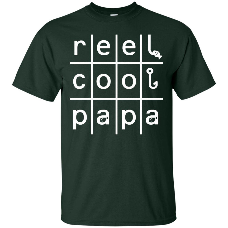 Reel Cool PaPa Fishing Fisherman Angling Father's Day Gifts
