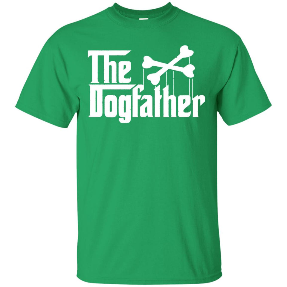 The Dogfather - Dog Lover T-Shirt - Father's Day Gift Idea