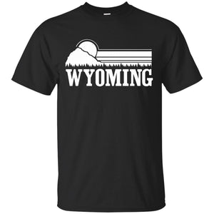 Whereables - Wyoming Mountains T-Shirt - Newmeup