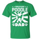 World's Best Poodle Dad T-Shirt - Newmeup