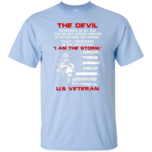 I Whispered In The Devil's Ear I Am The Storm Us Veteran