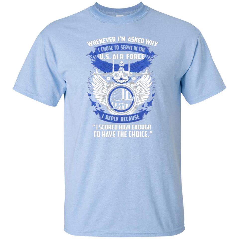 I Serve In The Us Air Force T-Shirt