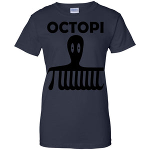 Octopi t-shirt for teachers and lovers of pi symbol