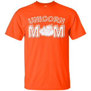 Unicorn Mom Sitting on Cloud T-Shirt - Newmeup