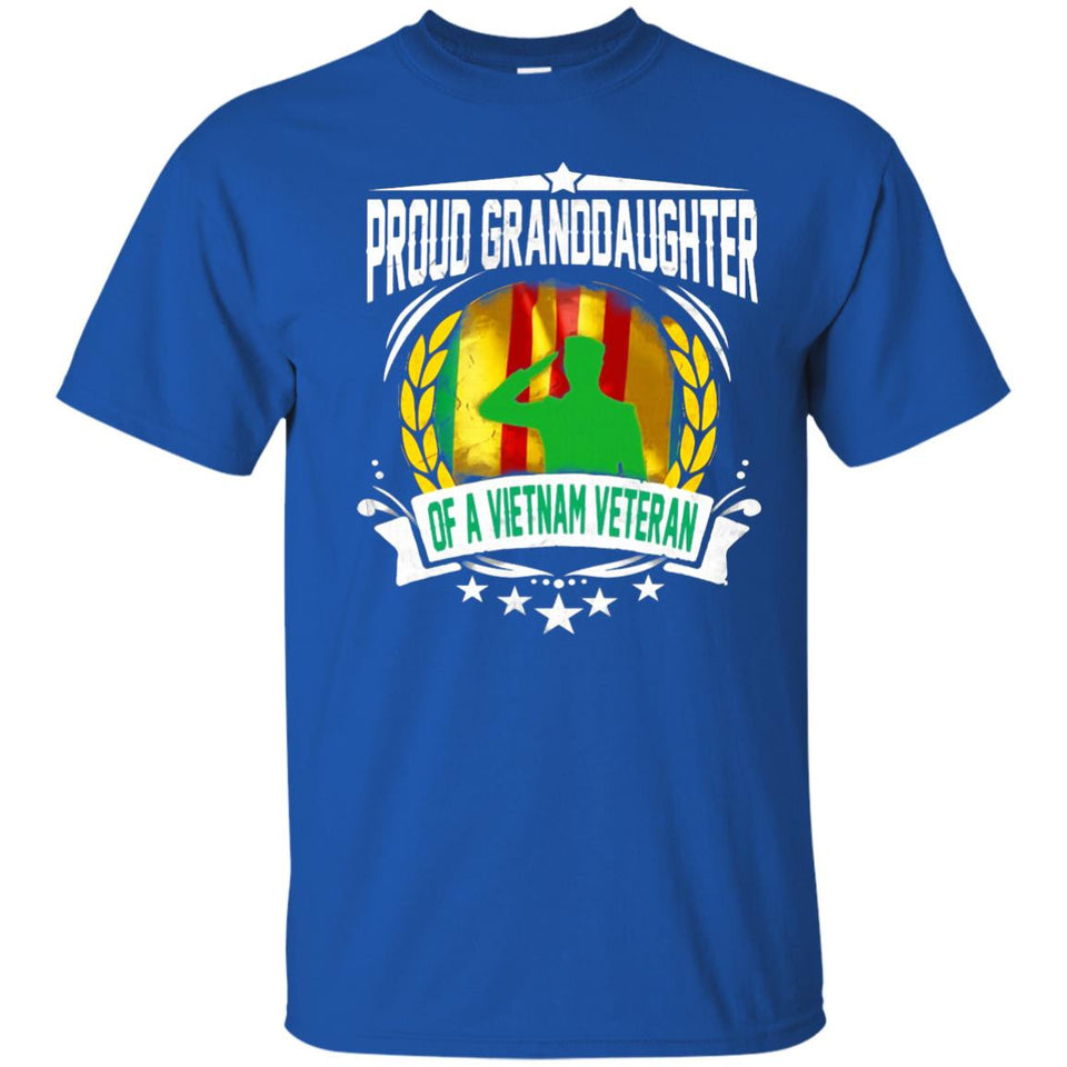 Proud Granddaughter Of A Vietnam Veteran Shirt