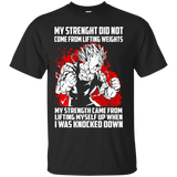 Dbz Fighters Shirts Men's Train Goku Super Saiyan Dragon Ball Z Workout Shirts - Newmeup