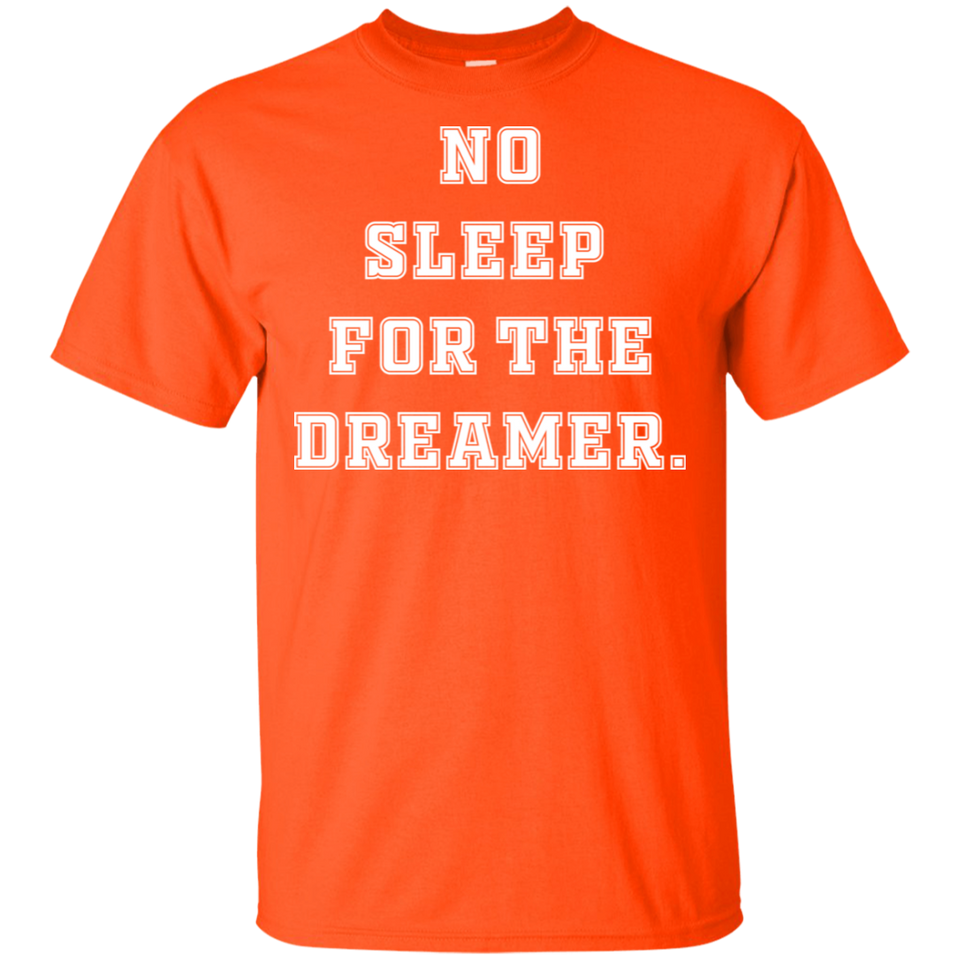 No Sleep For The Dreamer Basketball Old Style Shirt
