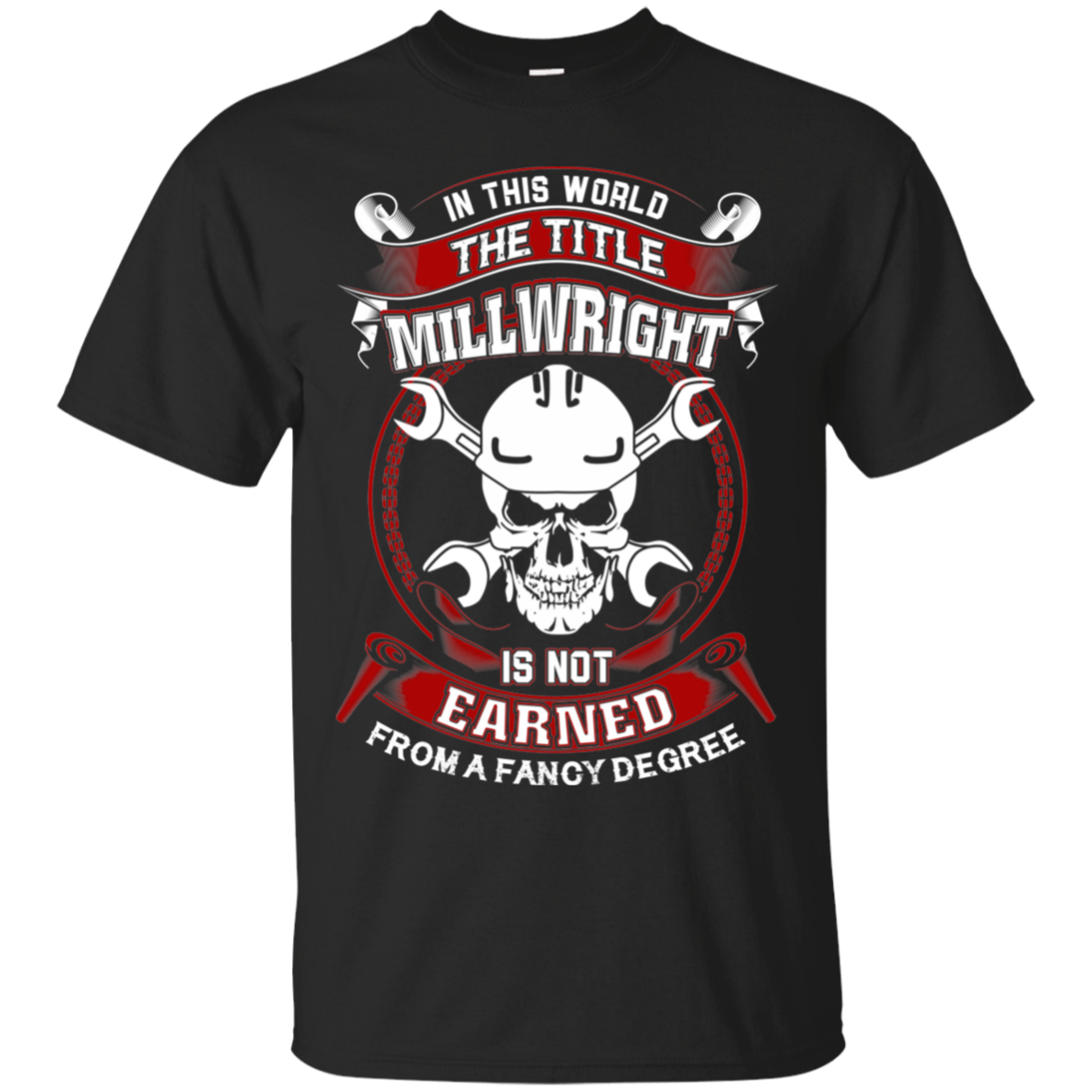 In This World The Title Millwright T Shirt
