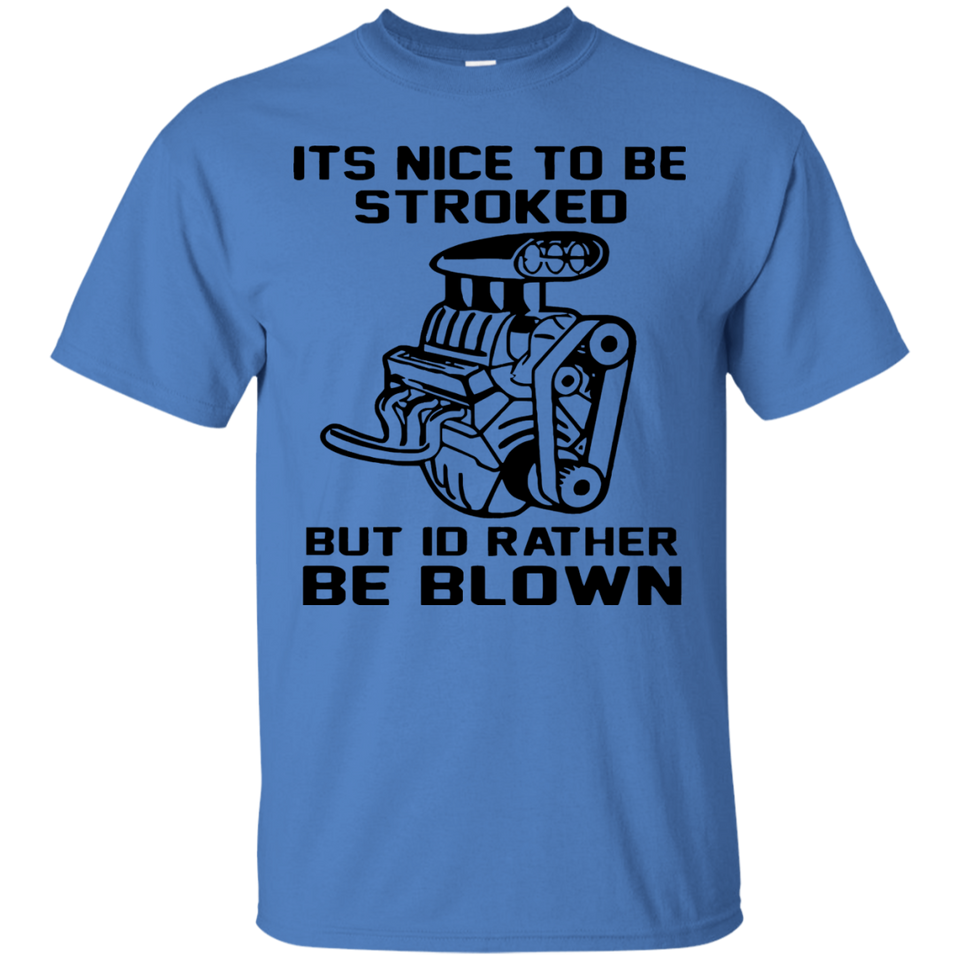 Its Nice To Be Stroked But Id Rather Be Blown Mechanic Shirt(Black)